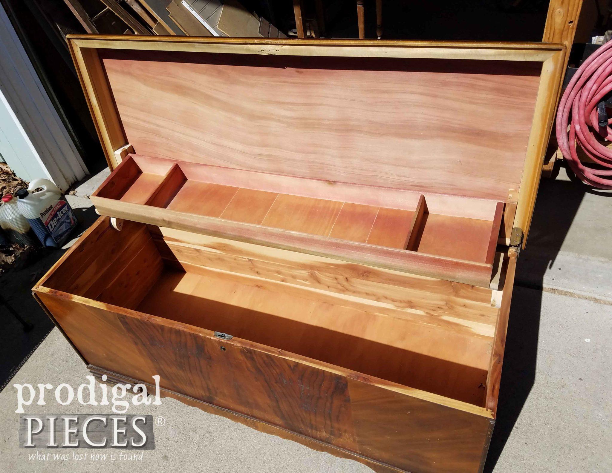 Cedar Chest Opened | prodgigalpieces.com