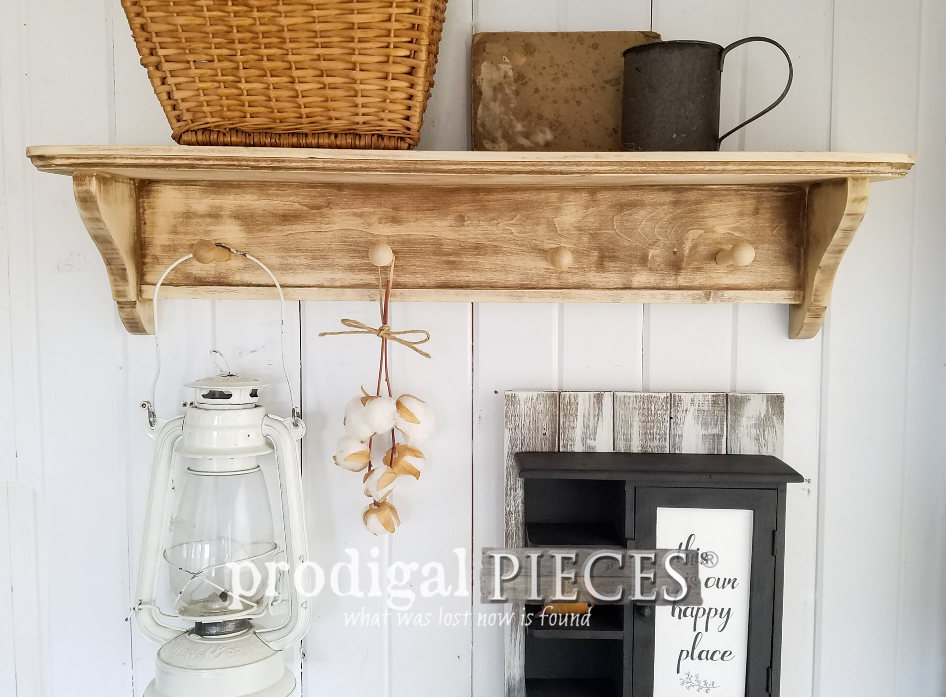 Featured DIY Farmhouse Decor from Thrifted Finds by Larissa of Prodigal Pieces | prodigalpieces.com