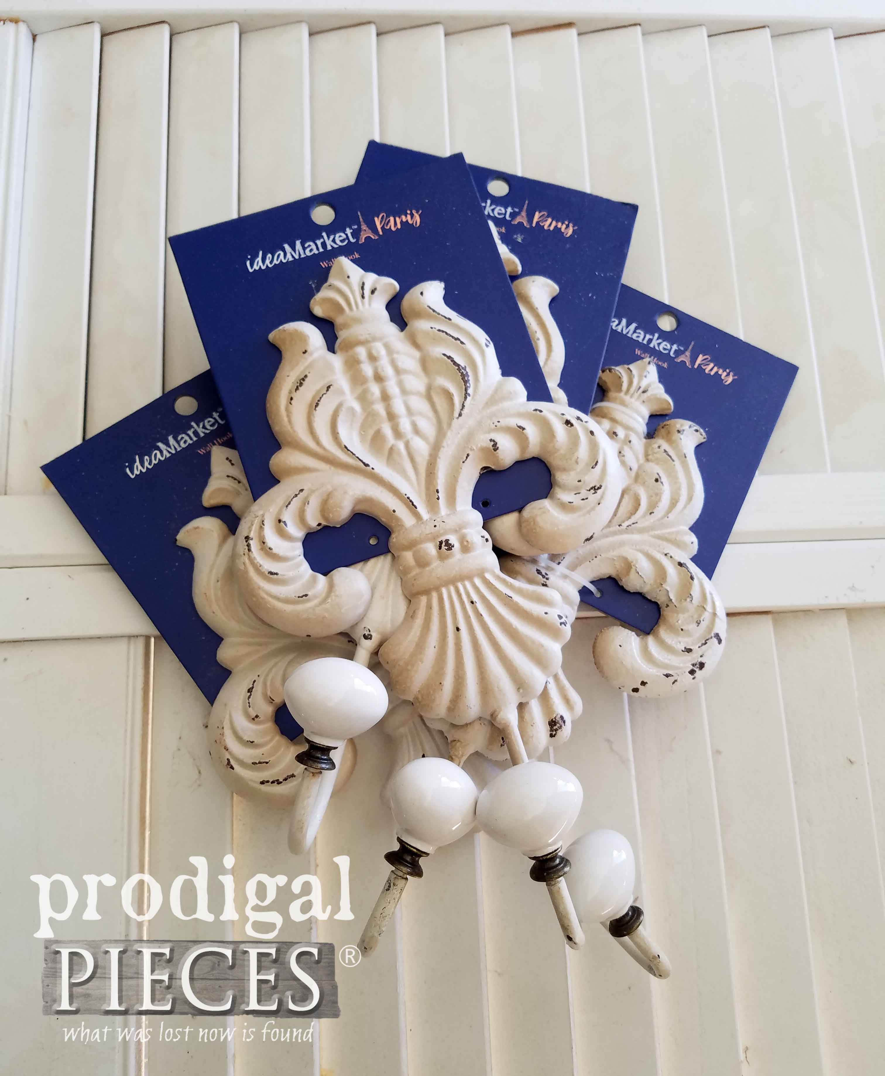Fleur de Lis Wall Hooks for Home Decor by Prodigal Pieces | prodigalpieces.com