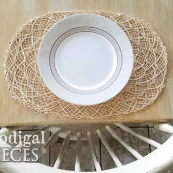 Natural Abaca Placemats for Farmhouse, Cottage, or Boho Dining Decor | Available at Prodigal Pieces | prodigalpieces.com