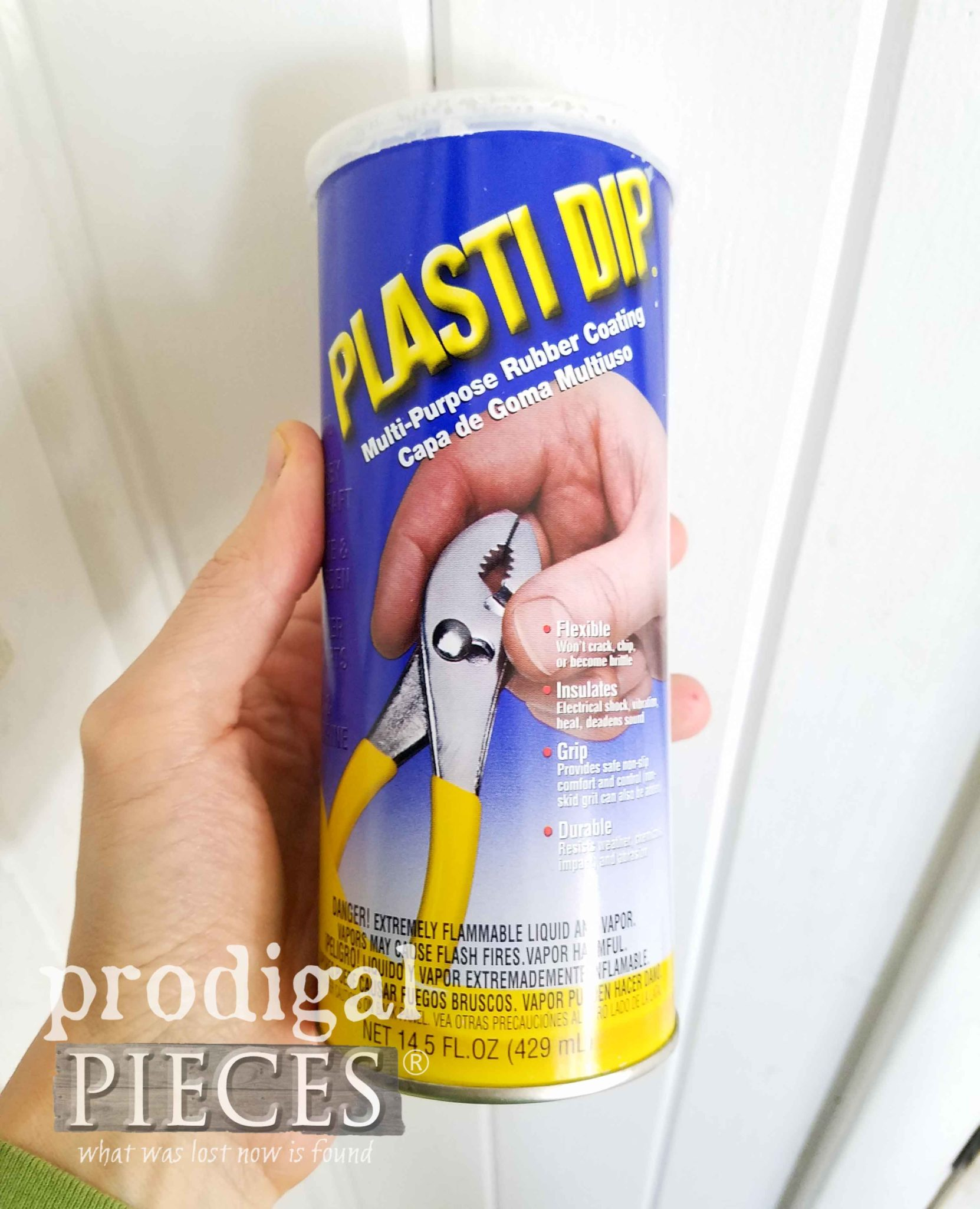 Use Plasti Dip to Repair Furniture Feet Rubbers | prodigalpieces.com