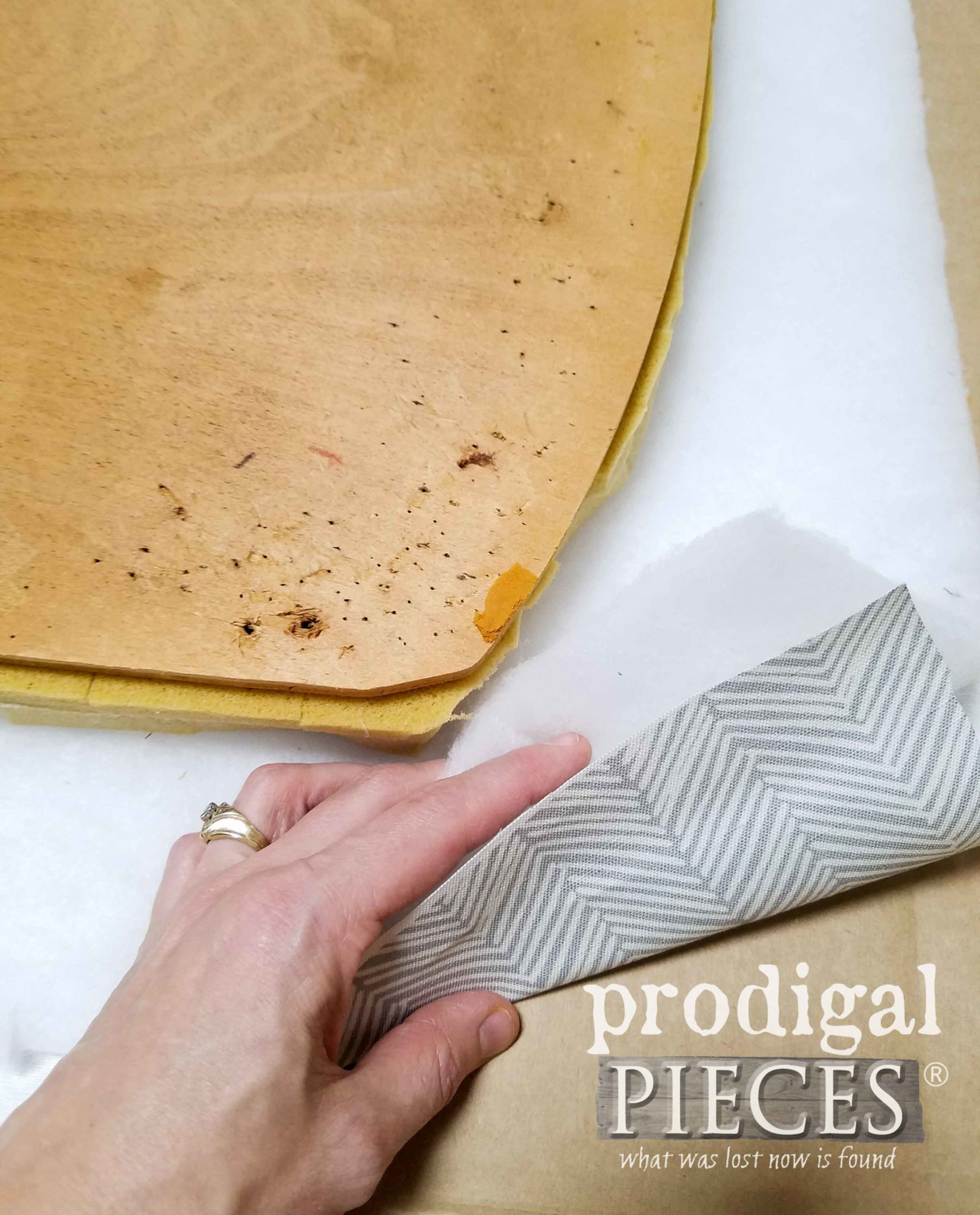 Layers of Upholstery for Mid Century Dining Chairs | prodigalpieces.com