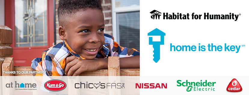 Habitat for Humanity Campaign Home is the Key with Corporate Partners | prodigalpieces.com
