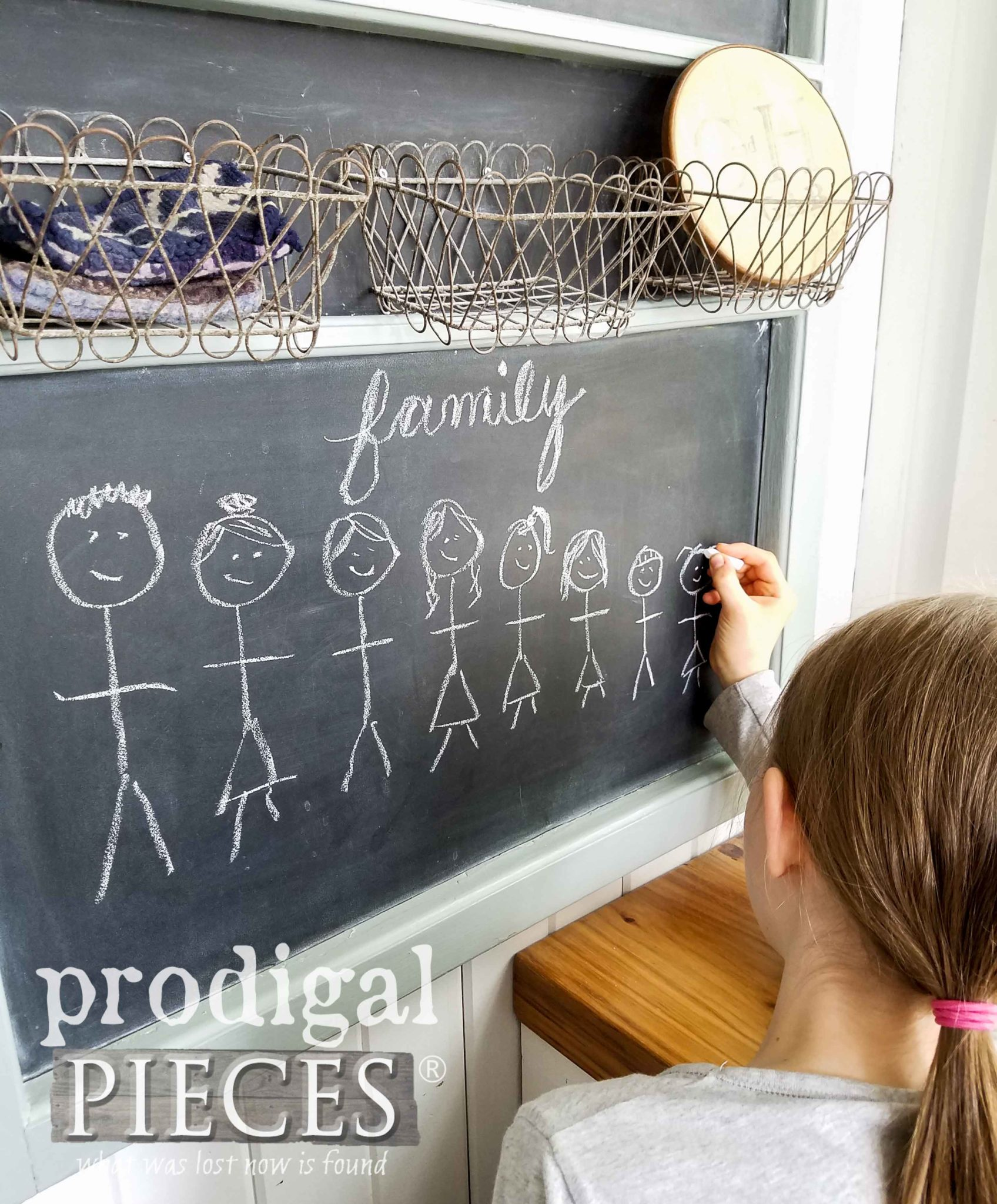Hand-drawn Chalkboard Art via Prodigal Pieces | prodigalpieces.com