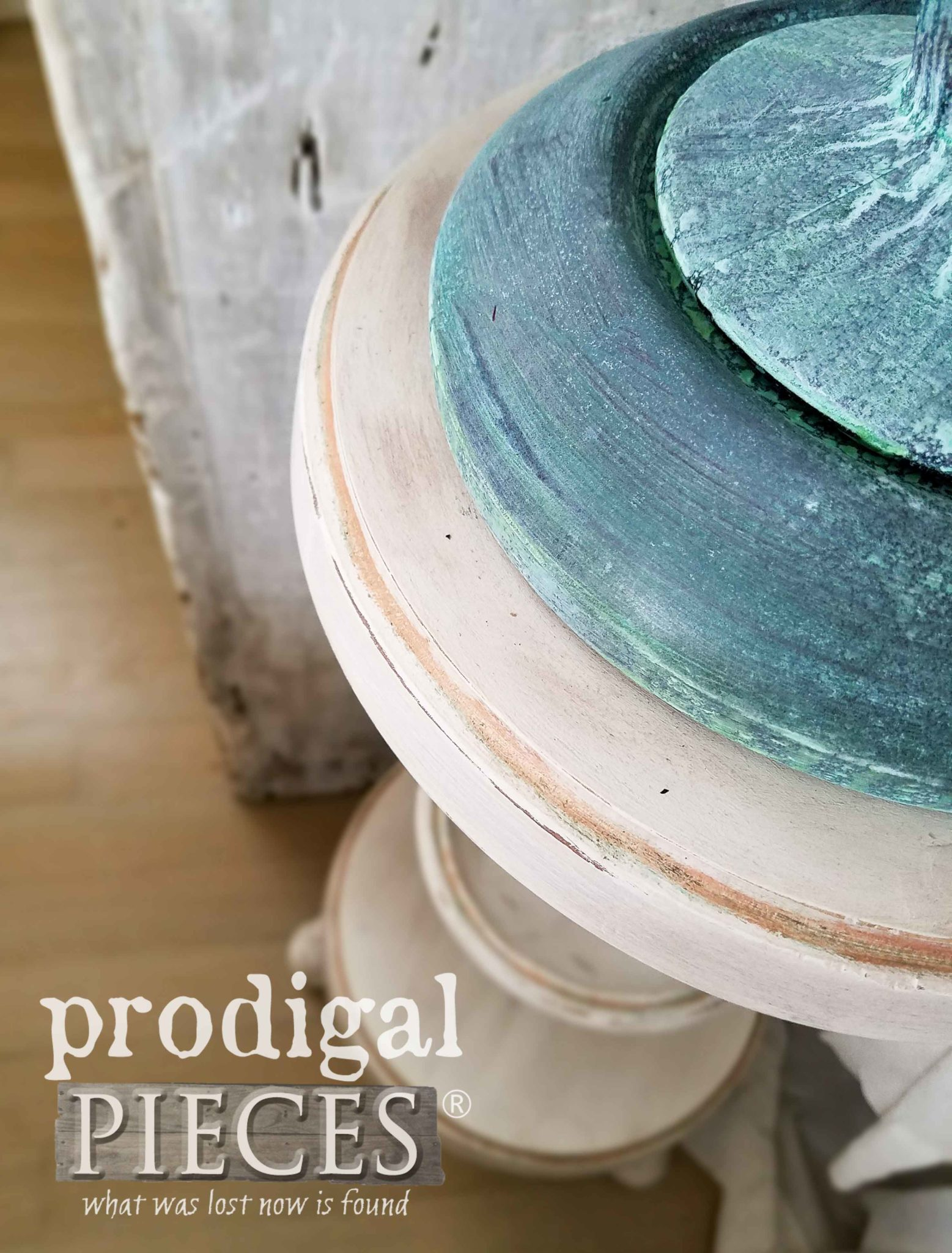 DIY Plant Stand from Repurposed Ash Tray by Prodigal Pieces | prodigalpieces.com