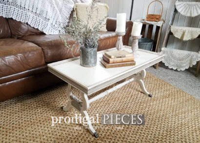 Featured Antique Coffee Table Restored by Larissa of Prodigal Pieces | prodigalpieces.com