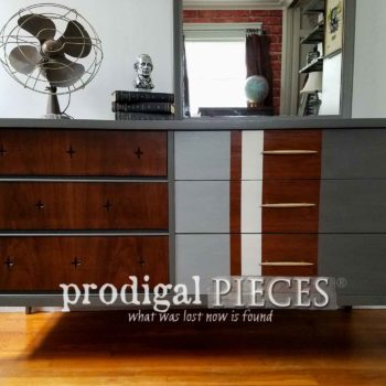 Featured Vintage Broyhill Saga Dresser by Prodigal Pieces | prodigalpieces.com