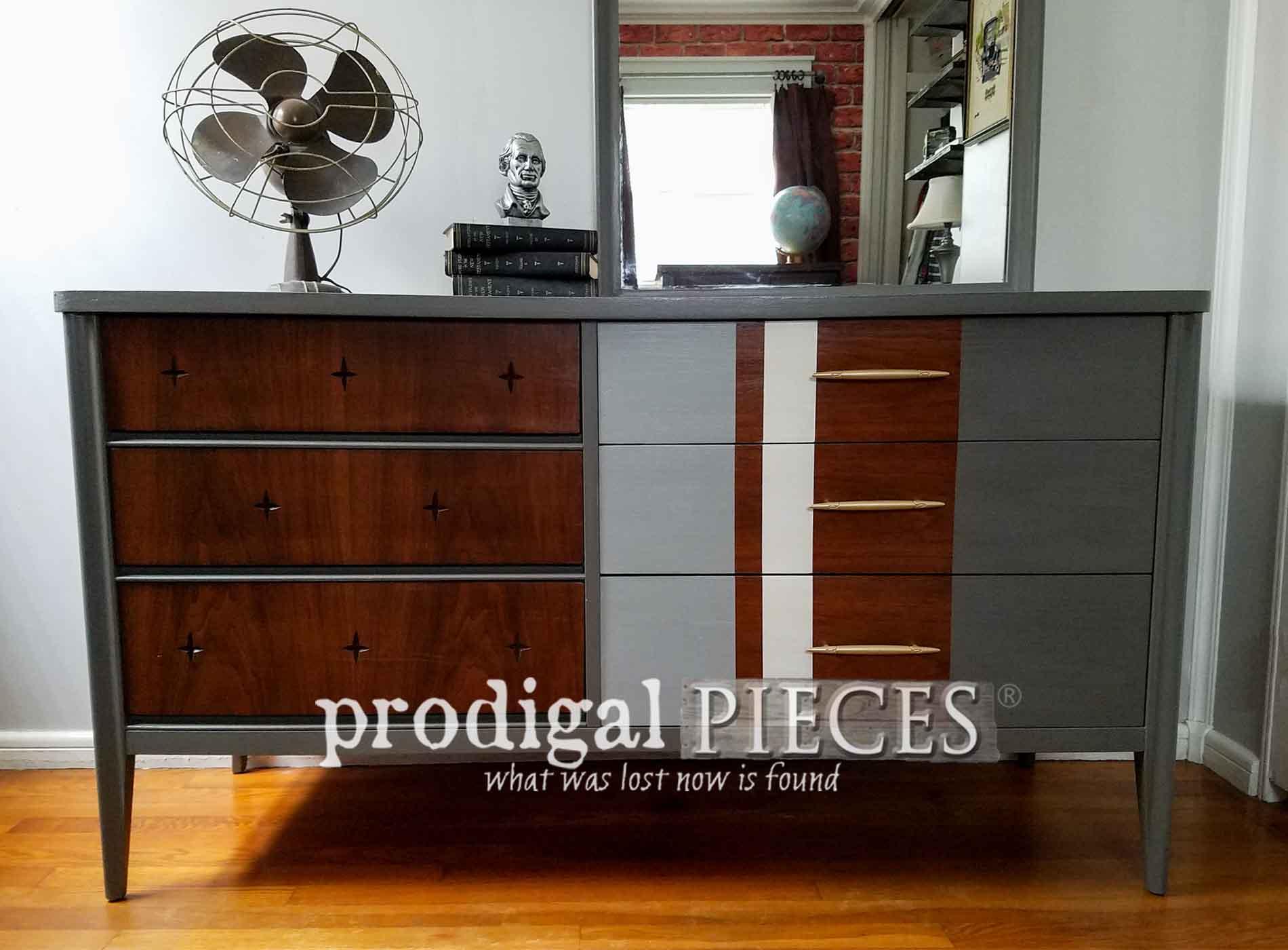 Featured Vintage Broyhill Saga Dresser by Prodigal Pieces | prodigalpieces.com