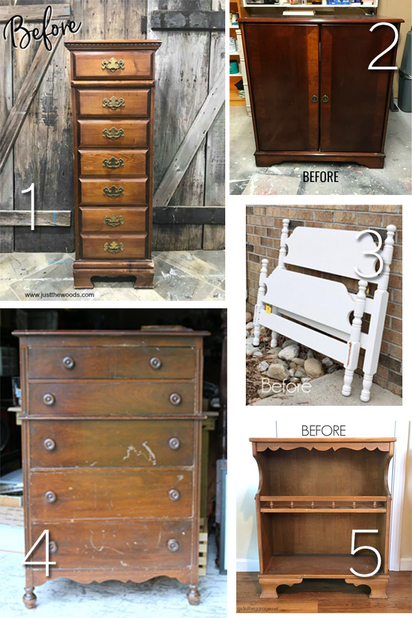 Furniture Fixer Uppers April 2018 | prodigalpieces.com