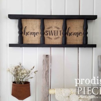 Home Sweet Home Farmhouse Sign / Wall Decor by Larissa & Son of Prodigal Pieces | prodigalpieces.com