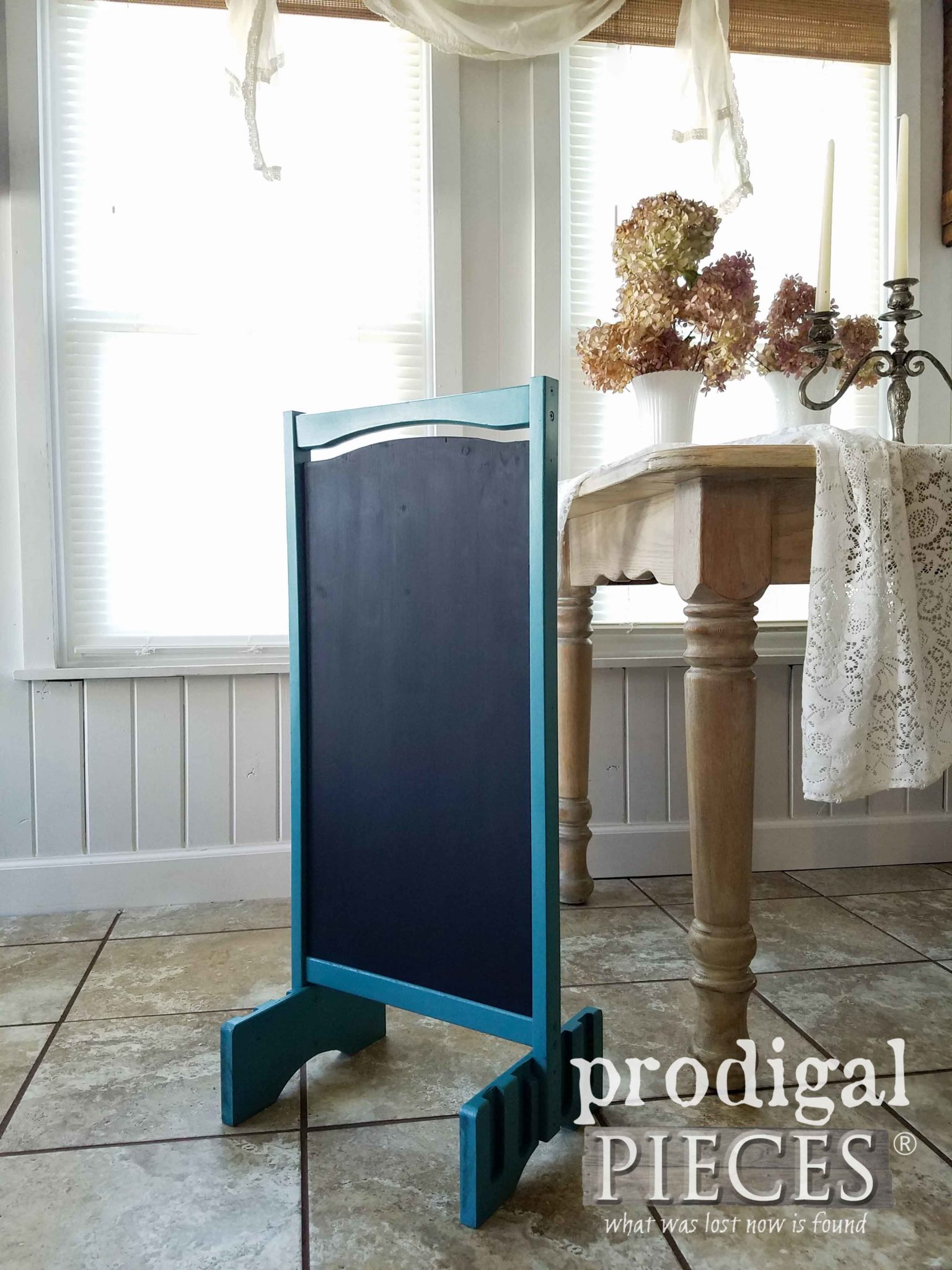 Upcycled DIY Chalkboard Sign for Any Occasion by Larissa of Prodigal Pieces | prodigalpieces.com