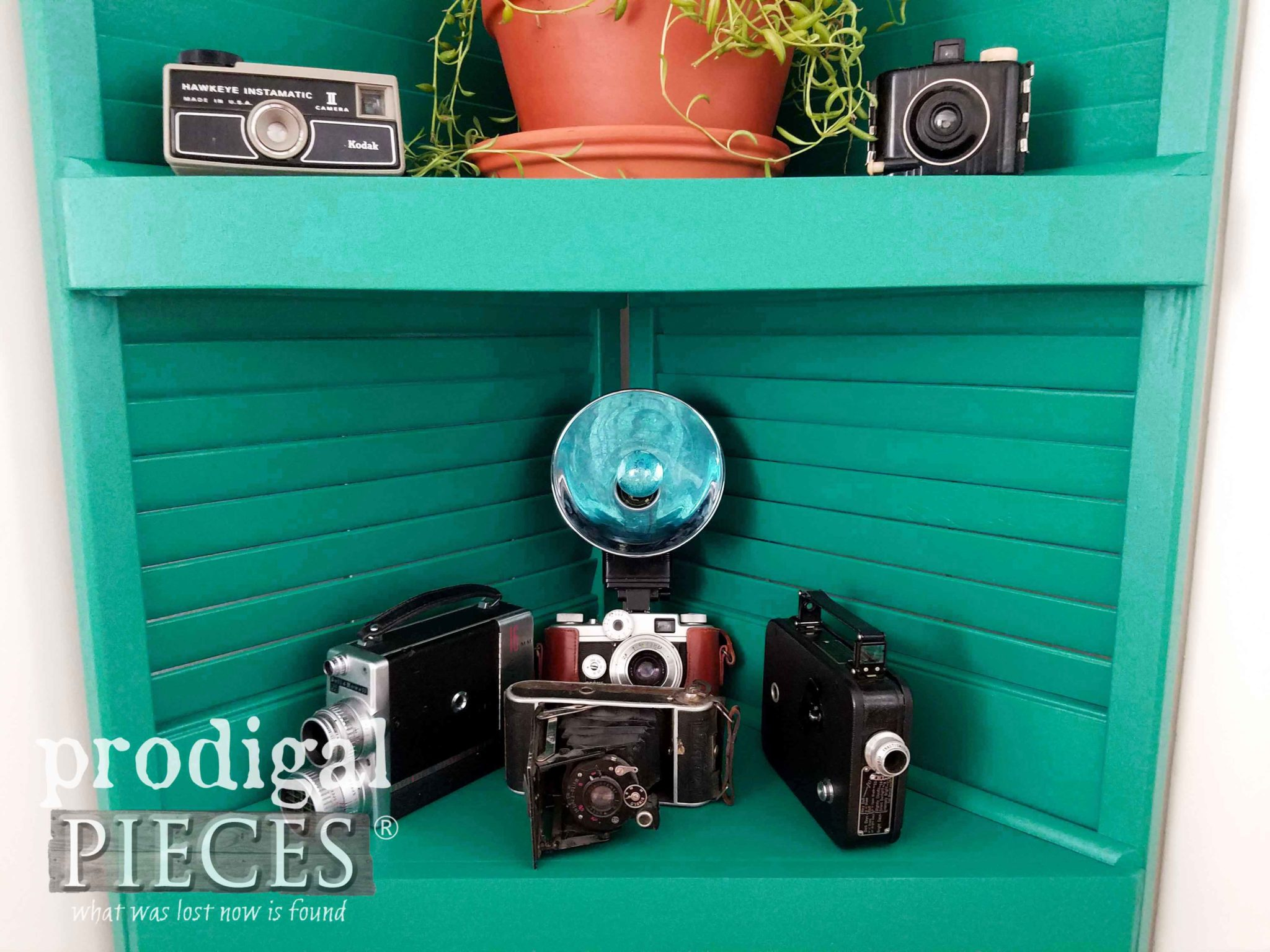 Vintage Camera Collection by Larissa of Prodigal Pieces | prodigalpieces.com