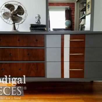 Vintage Mid Century Modern Broyhill Saga Dresser by Prodigal Pieces | prodigalpieces.com