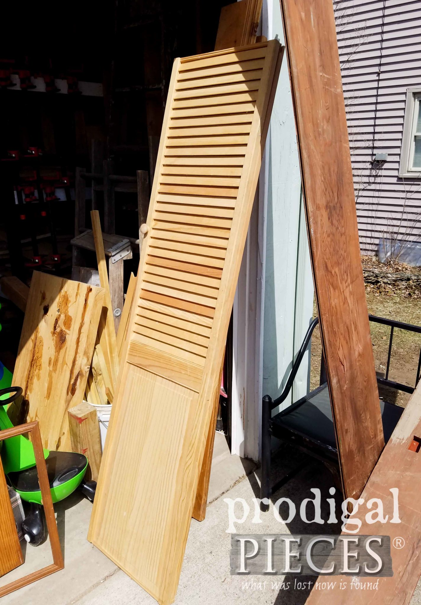 Wooden Doors Found Curbside by Prodigal Pieces | prodigalpieces.com