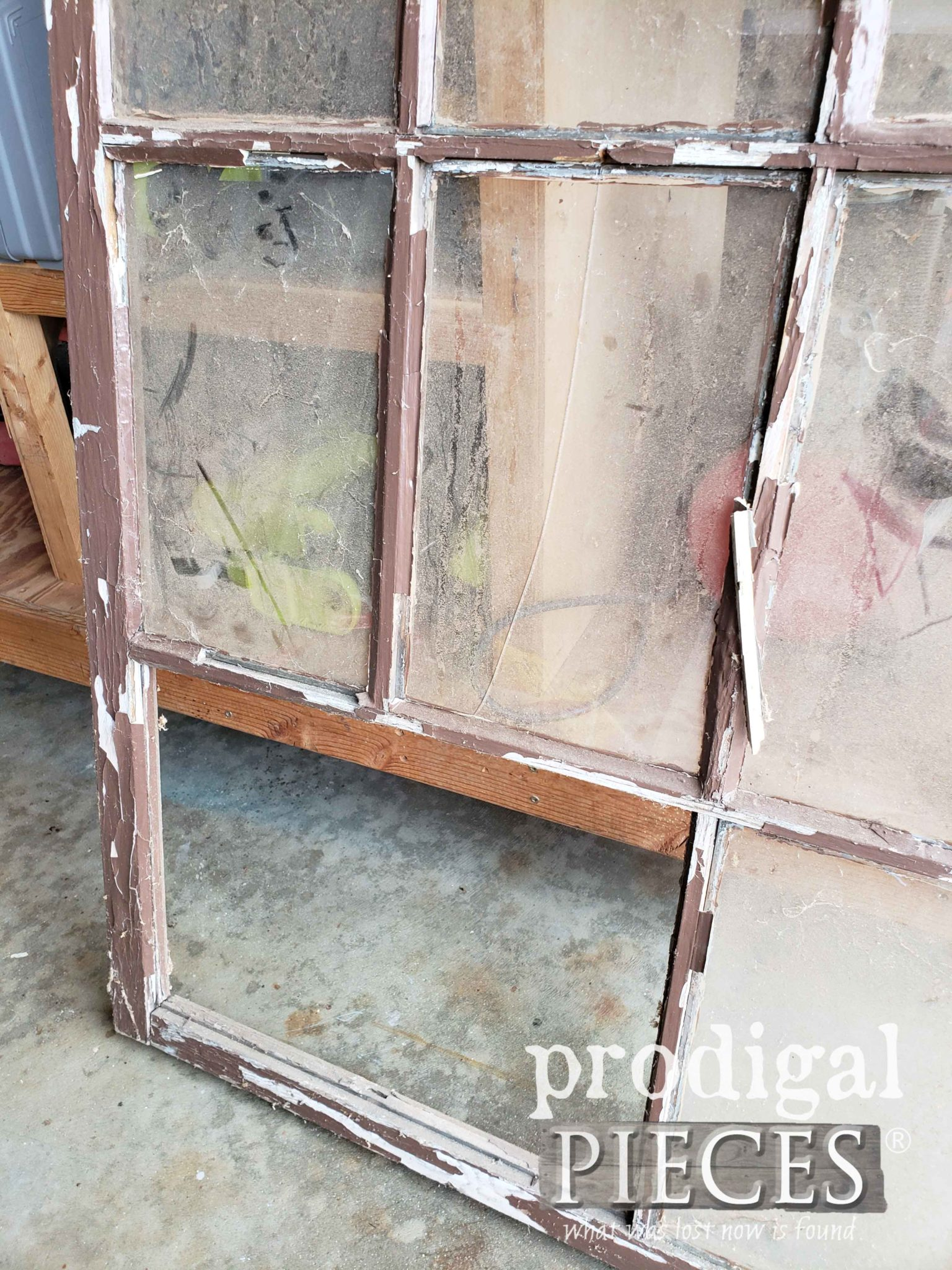 Damaged Window Corner | prodigalpieces.com