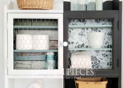 Featured Medicine Cabinet Makeover by Larissa of Prodigal Pieces | prodigalpieces.com