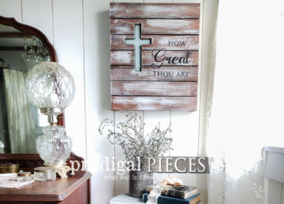 Featured Upcycled Farmhouse Decor by Larissa of Prodigal Pieces | prodigalpieces.com