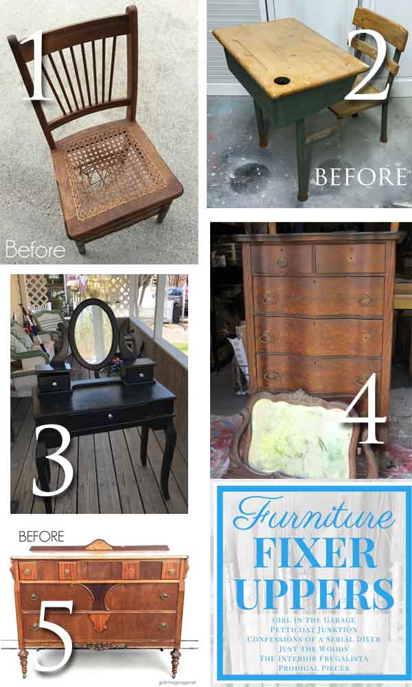Furniture Fixer Uppers may 2018 | prodigalpieces.com