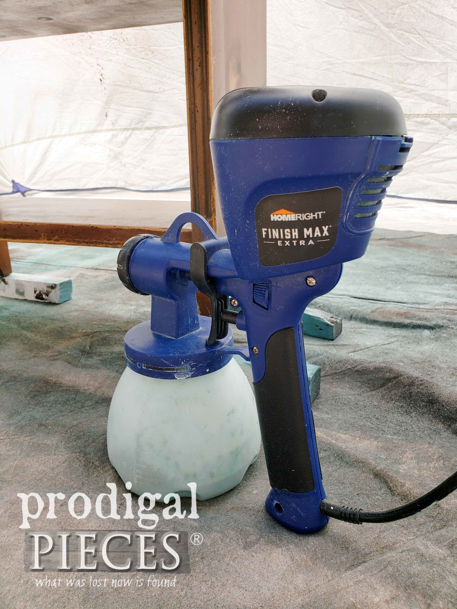 HomeRight Super Finish Max Paint Sprayer as used by Prodigal Pieces | prodigalpieces.com