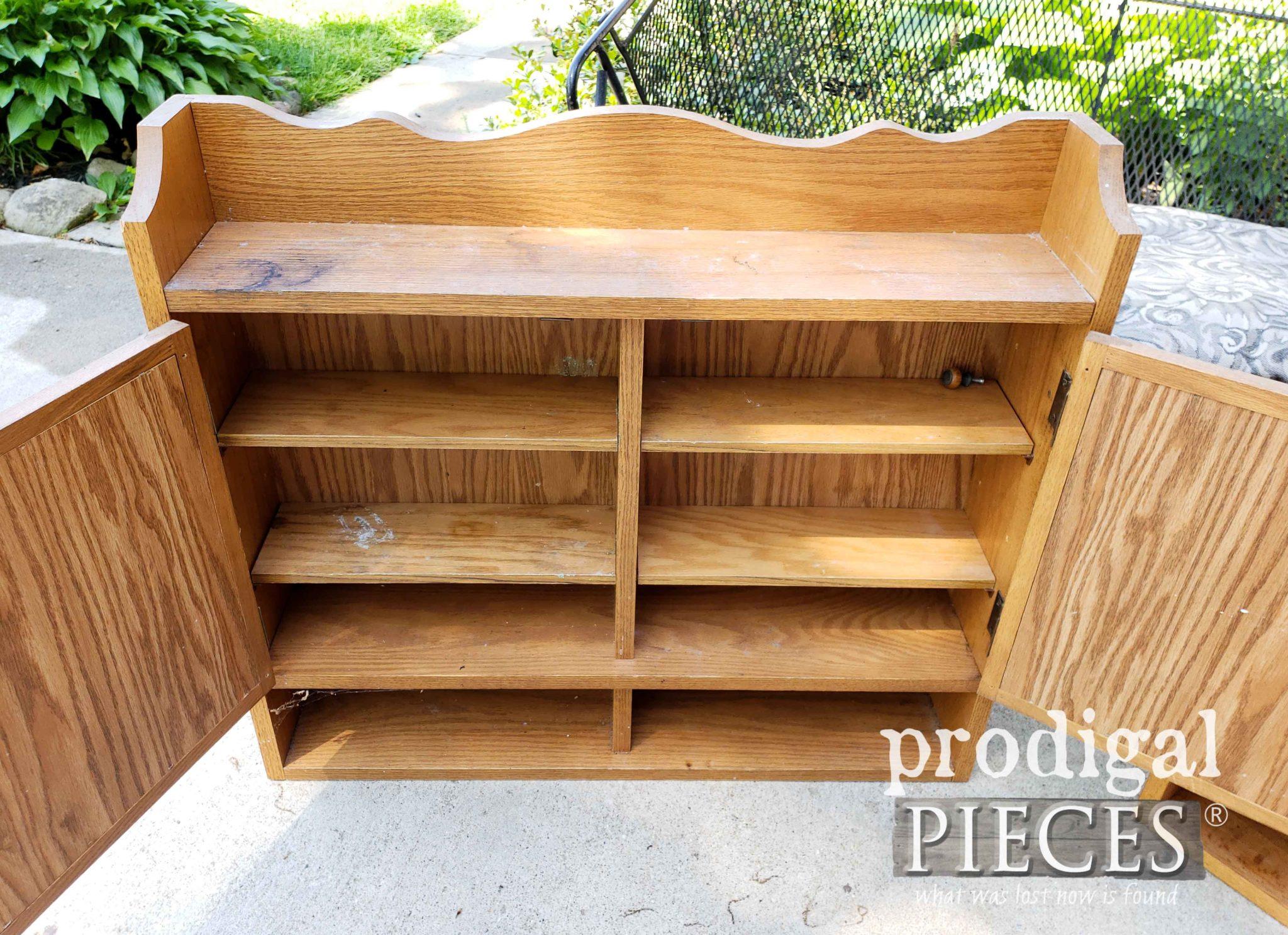 Interior of Medicine Cabinet #2 | prodigalpieces.com