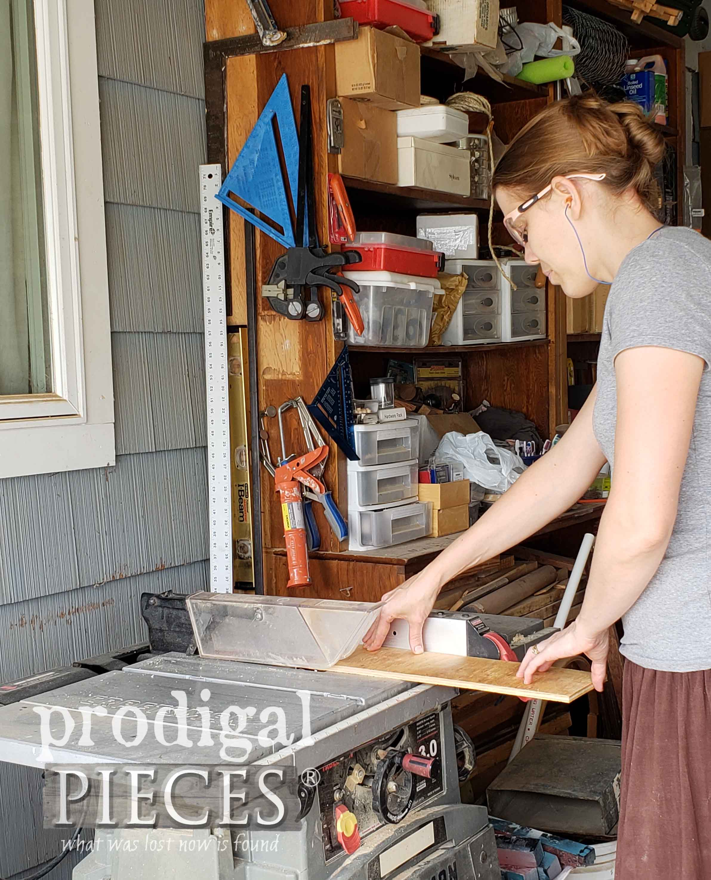 Table Saw for DIY Mullion | prodigalpieces.com