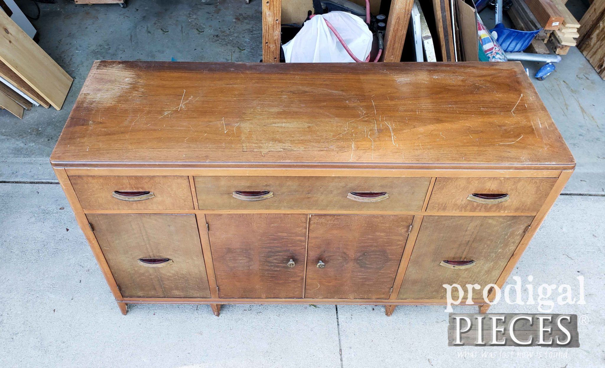 Damaged Buffet Top | prodigalpieces.com