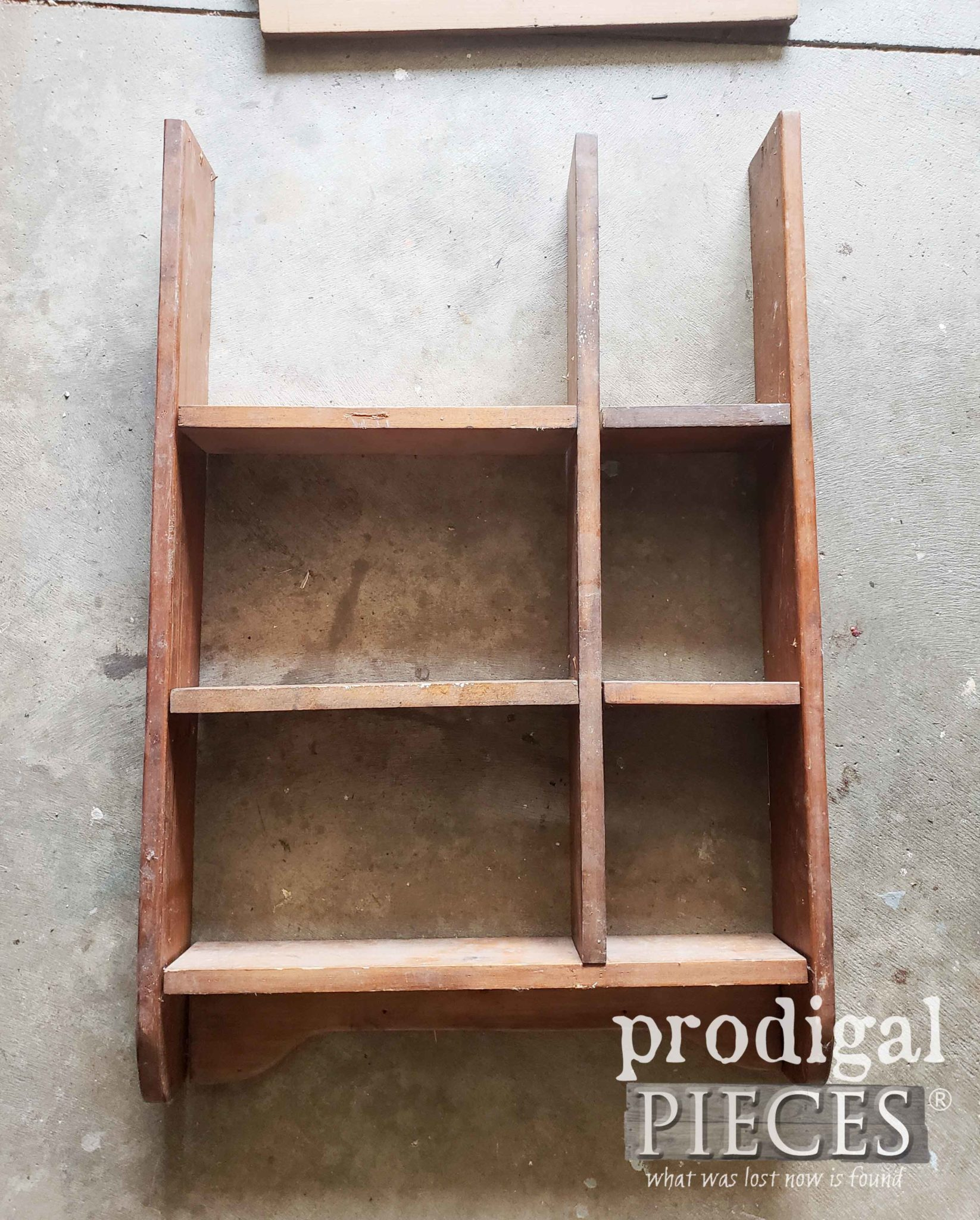 Dry Fit Farmhouse Kitchen Storage Shelf | prodigalpieces.com