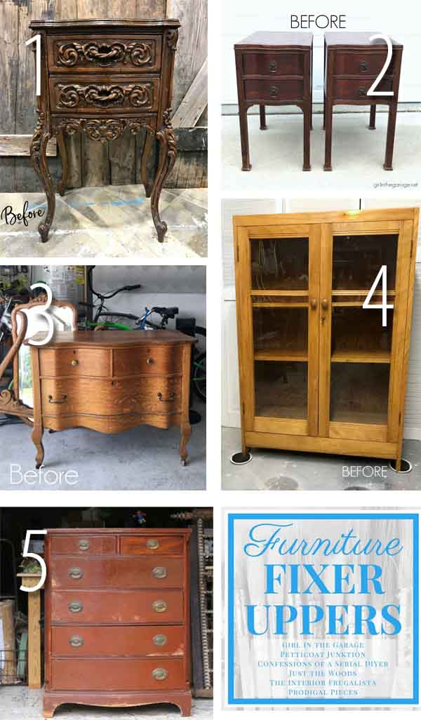 Furniture Fixer Uppers June 2018 | prodigalpieces.com