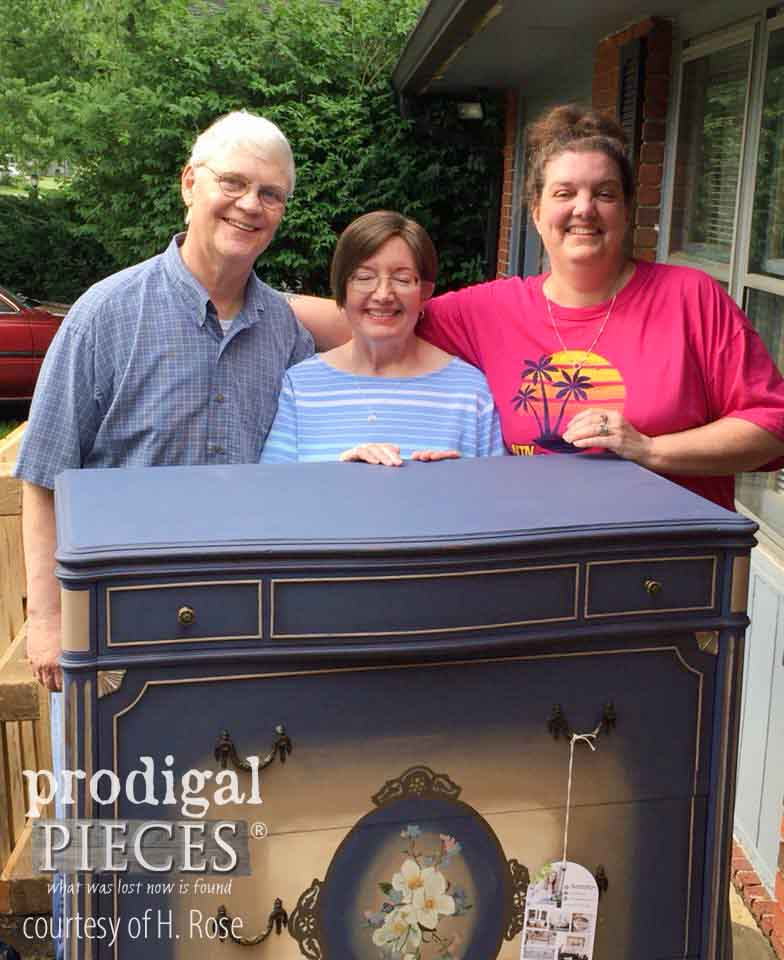Heather and Her family as recipients of the Finding Home program by Prodigal Pieces | prodigalpieces.com