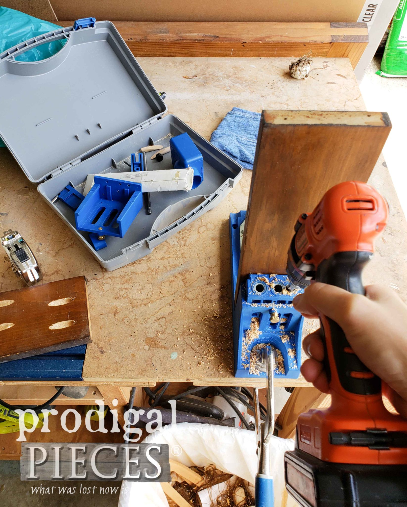 Kreg Pocket Hole Jig to Build Anything | prodigalpieces.com