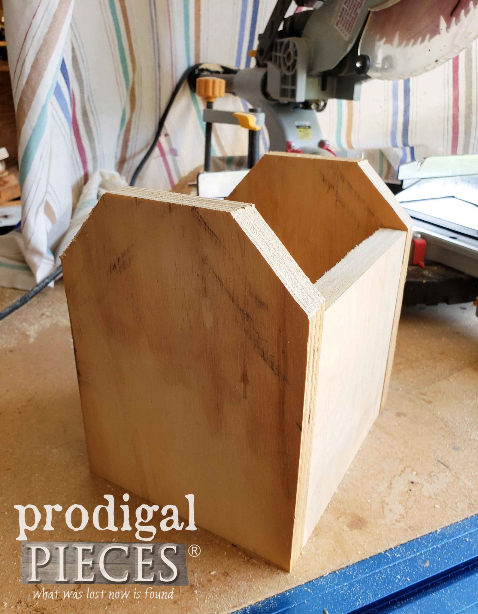 Barn Bird House in Dry Fit State by Prodigal Pieces | prodigalpieces.com