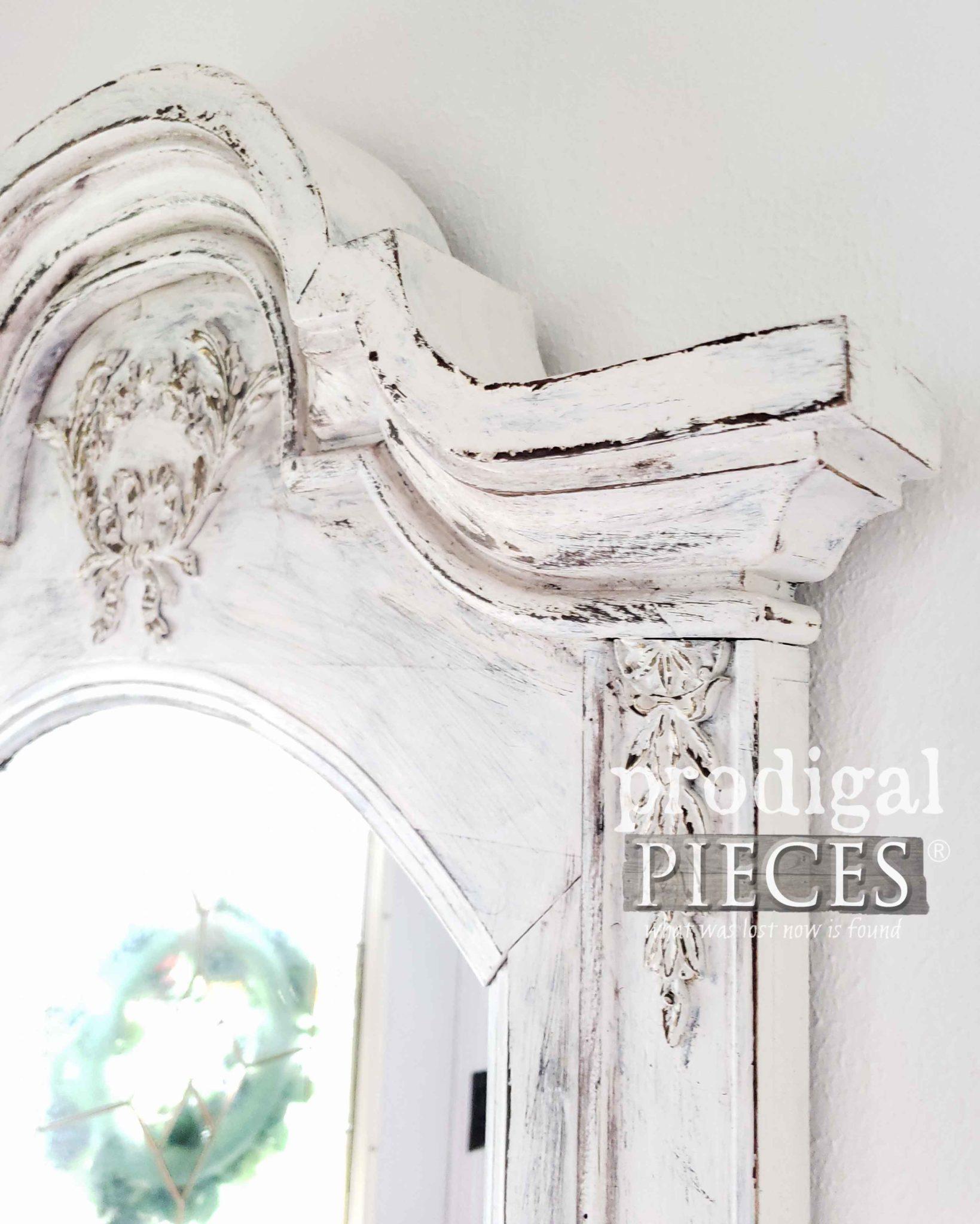 Distressed Mirror Closeup | prodigalpieces.com