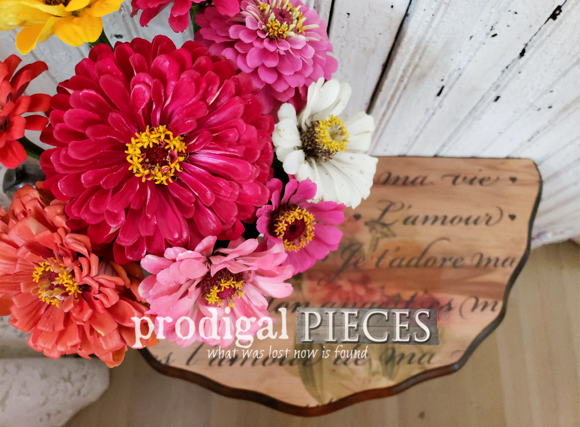 Featured Damaged Table Repair the Easy Way by Larissa of Prodigal Pieces | prodigalpieces.com