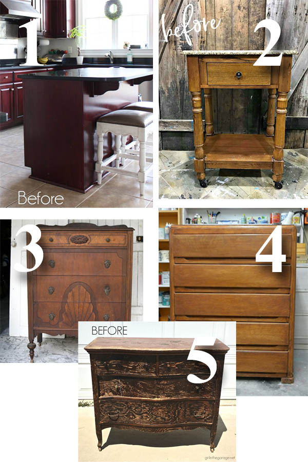 Furniture Fixer Uppers July 2018 | prodigalpieces.com