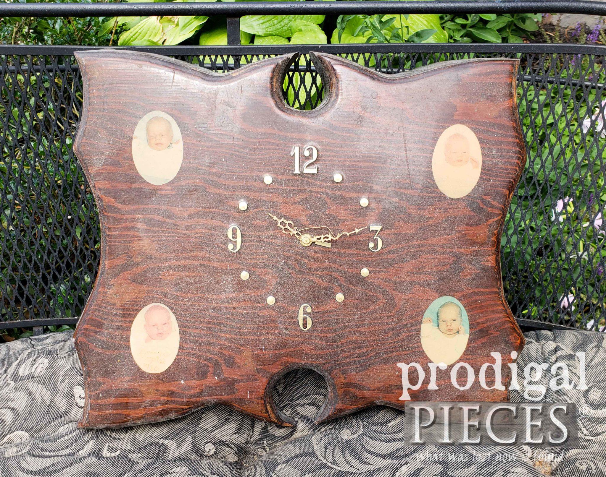 Handmade Vintage Clock Before Makeover by Prodigal Pieces | prodigalpieces.com