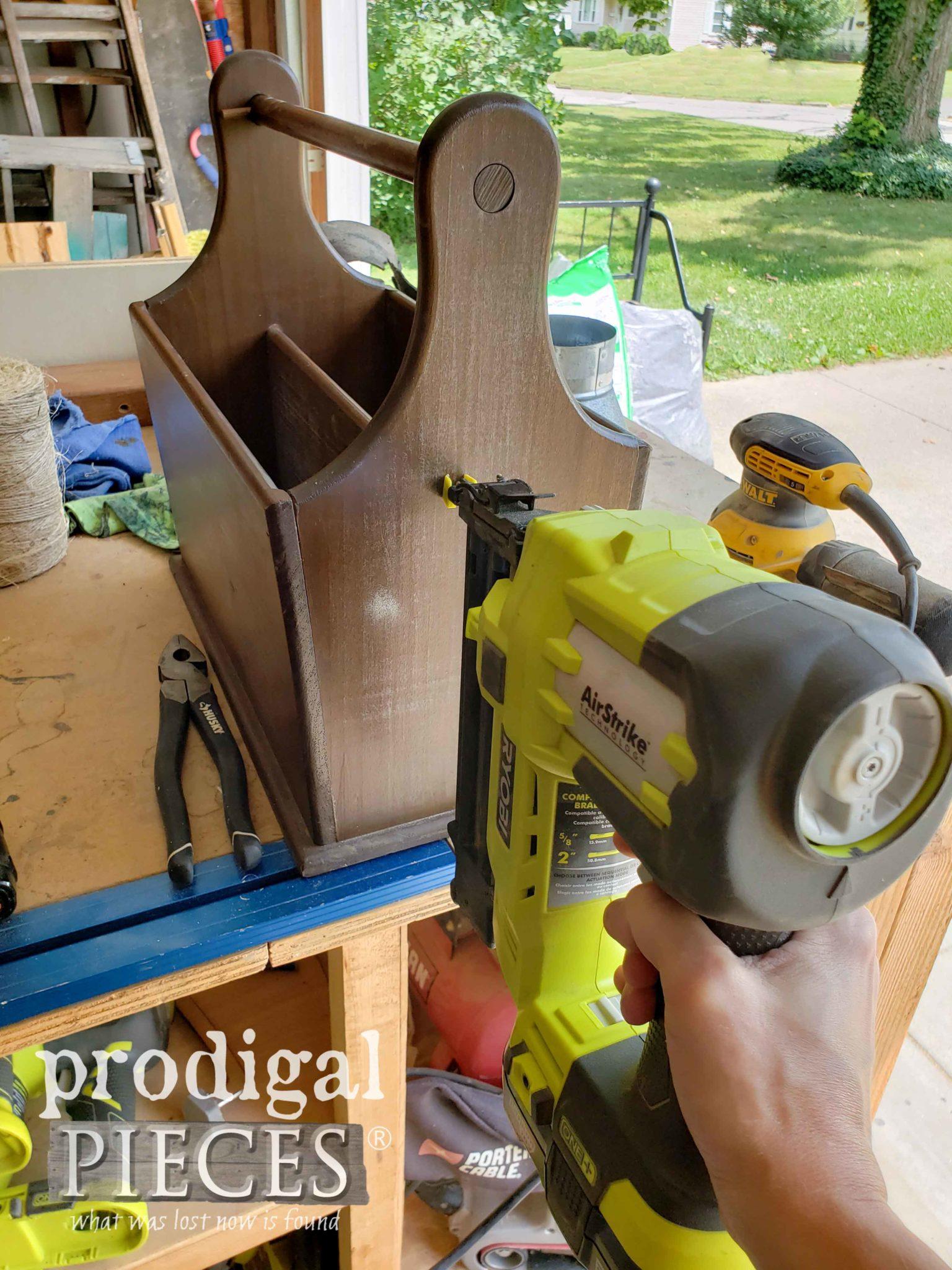 Ryobi AirStrike Nailer for Magainze Rack Repair | prodigalpieces.com