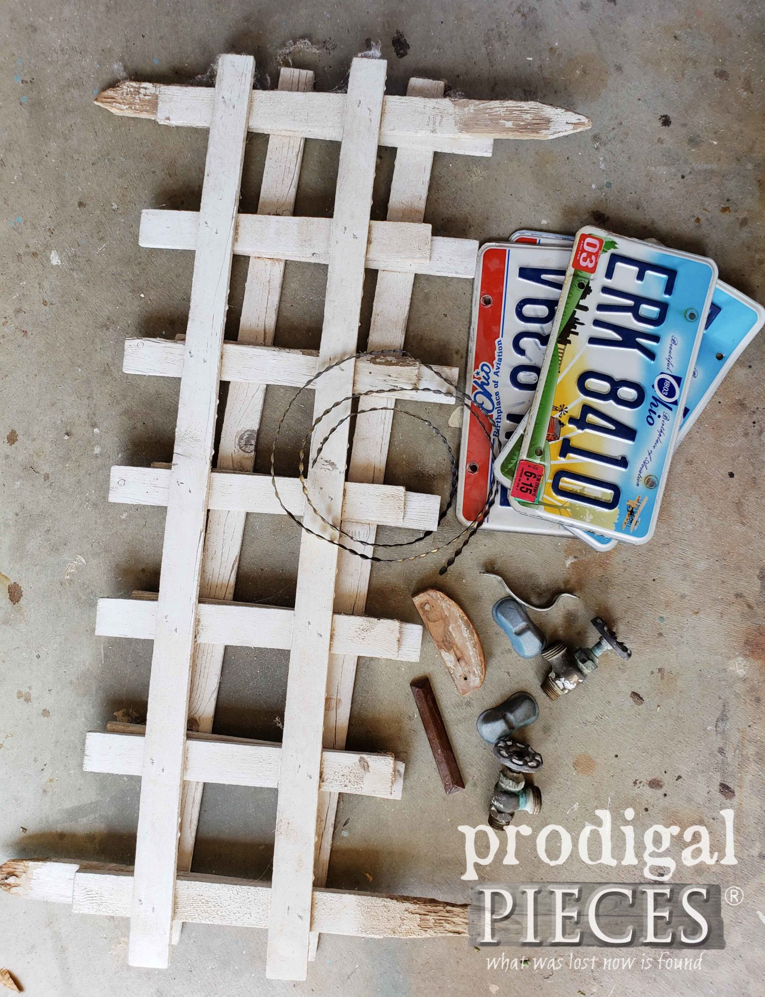 Salvaged Junk Pile to Create Handmade Birdhouses | Prodigal Pieces | prodigalpieces.com