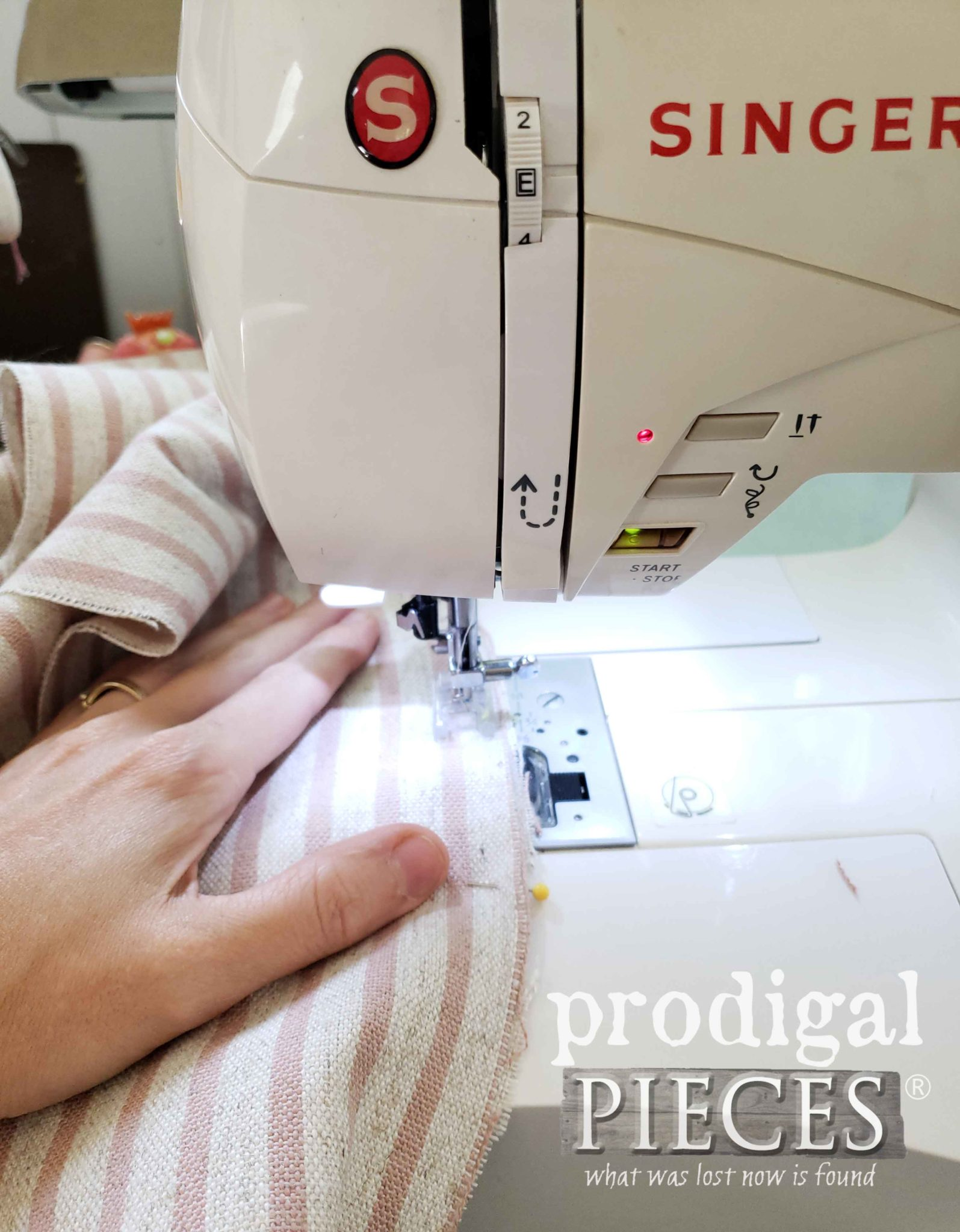 Sewing Upholstery for French Mattress by Prodigal Pieces | prodigalpieces.com