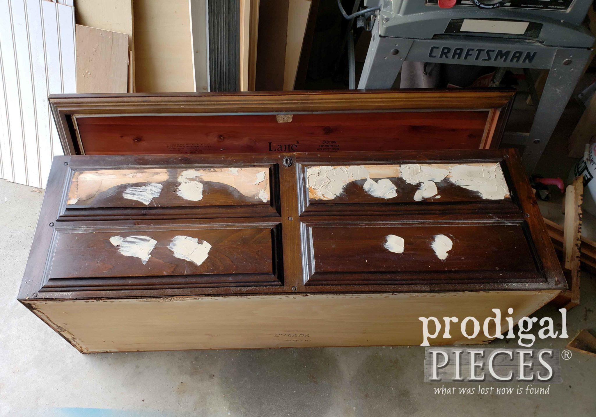 Blanket Chest Repair and Restoration by Prodigal Pieces | prodigalpieces.com
