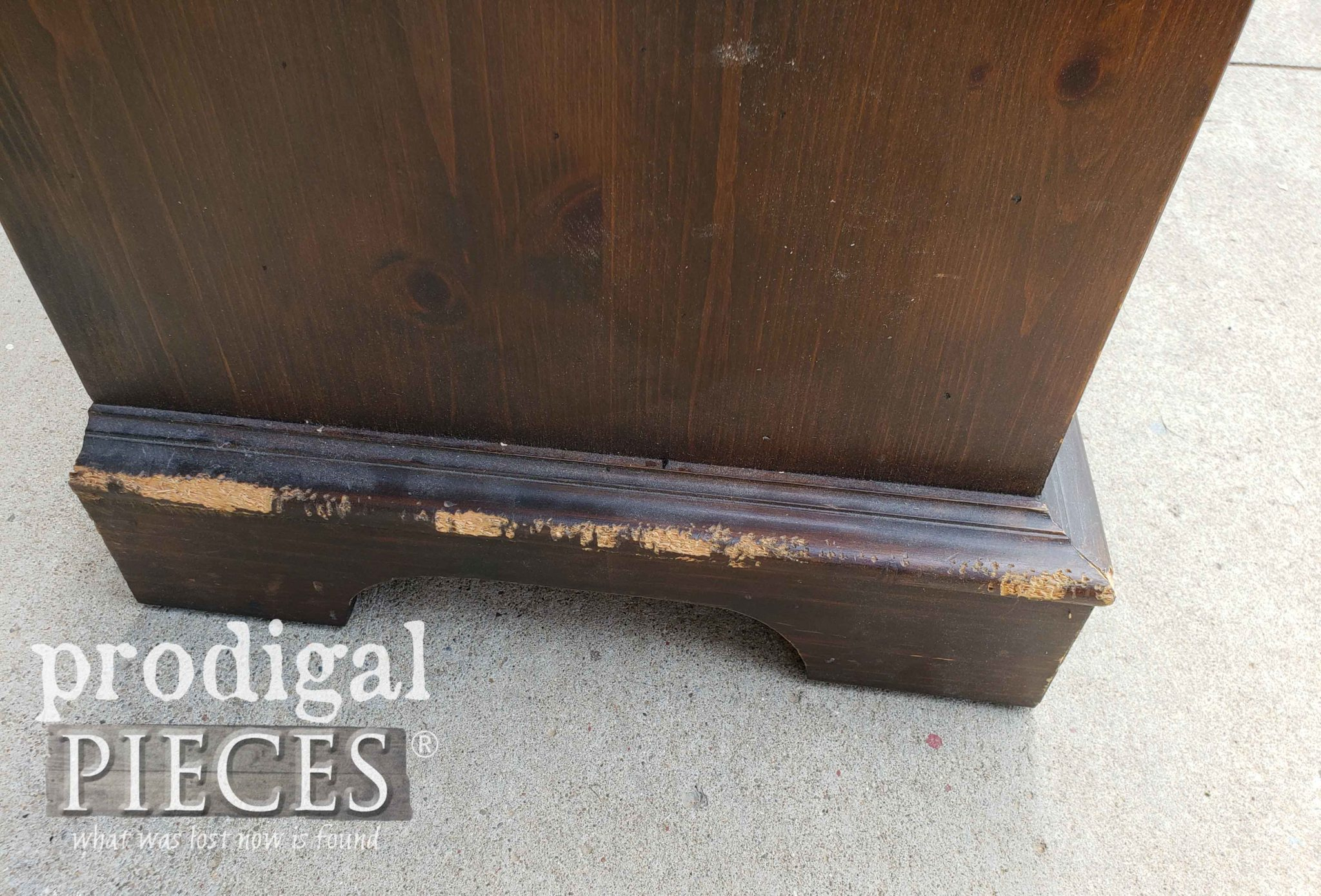 Damaged Blanket Chest | prodigalpieces.com