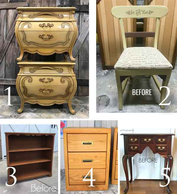 Furniture Fixer Uppers August 2018 | prodigalpieces.com