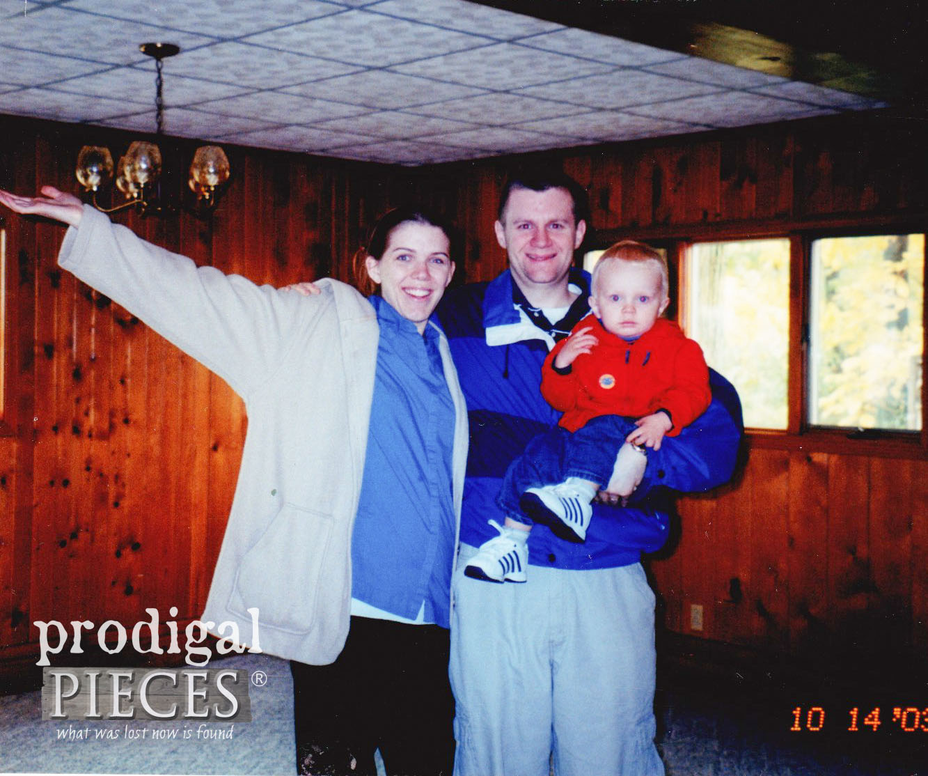 Haynes Family in First Home | prodigalpieces.com