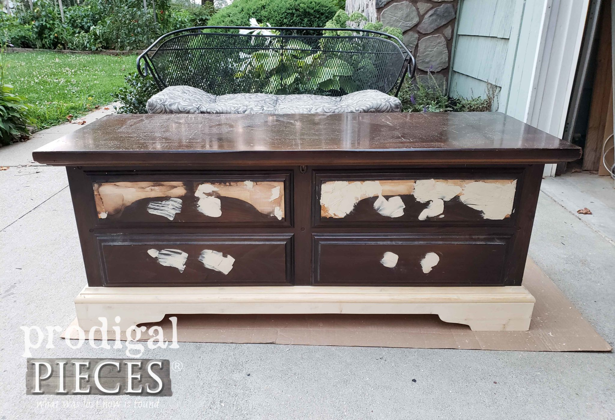 Rebuilt Damaged Lane Cedar Chest by Prodigal Pieces | prodigalpieces.com