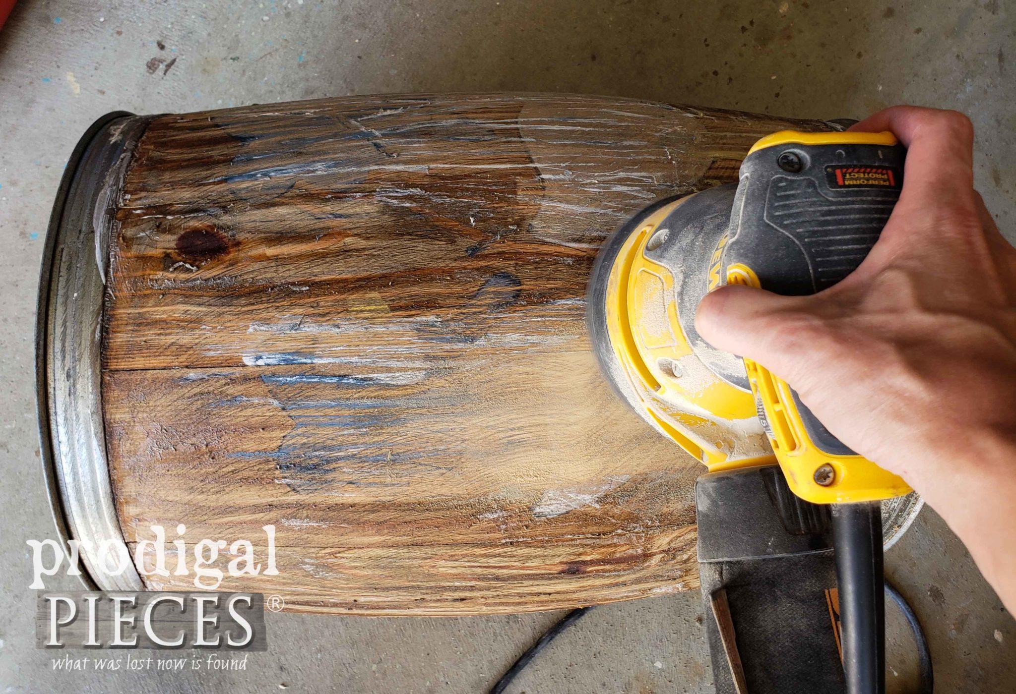 Sanding Nail Barrel | prodigalpieces.com