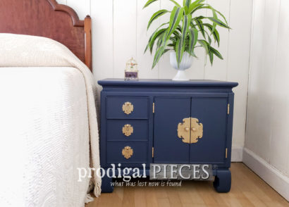 Featured Vintage Chest Nightstand Given New Life with Paint by Prodigal Pieces | prodigalpieces.com