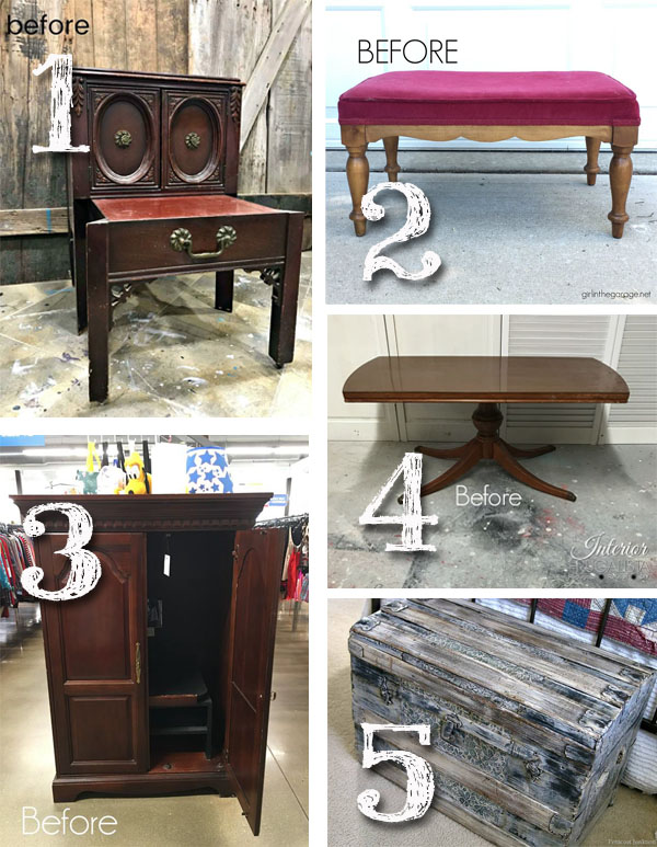 Furniture Fixer Uppers September 2018 | prodigalpieces.com