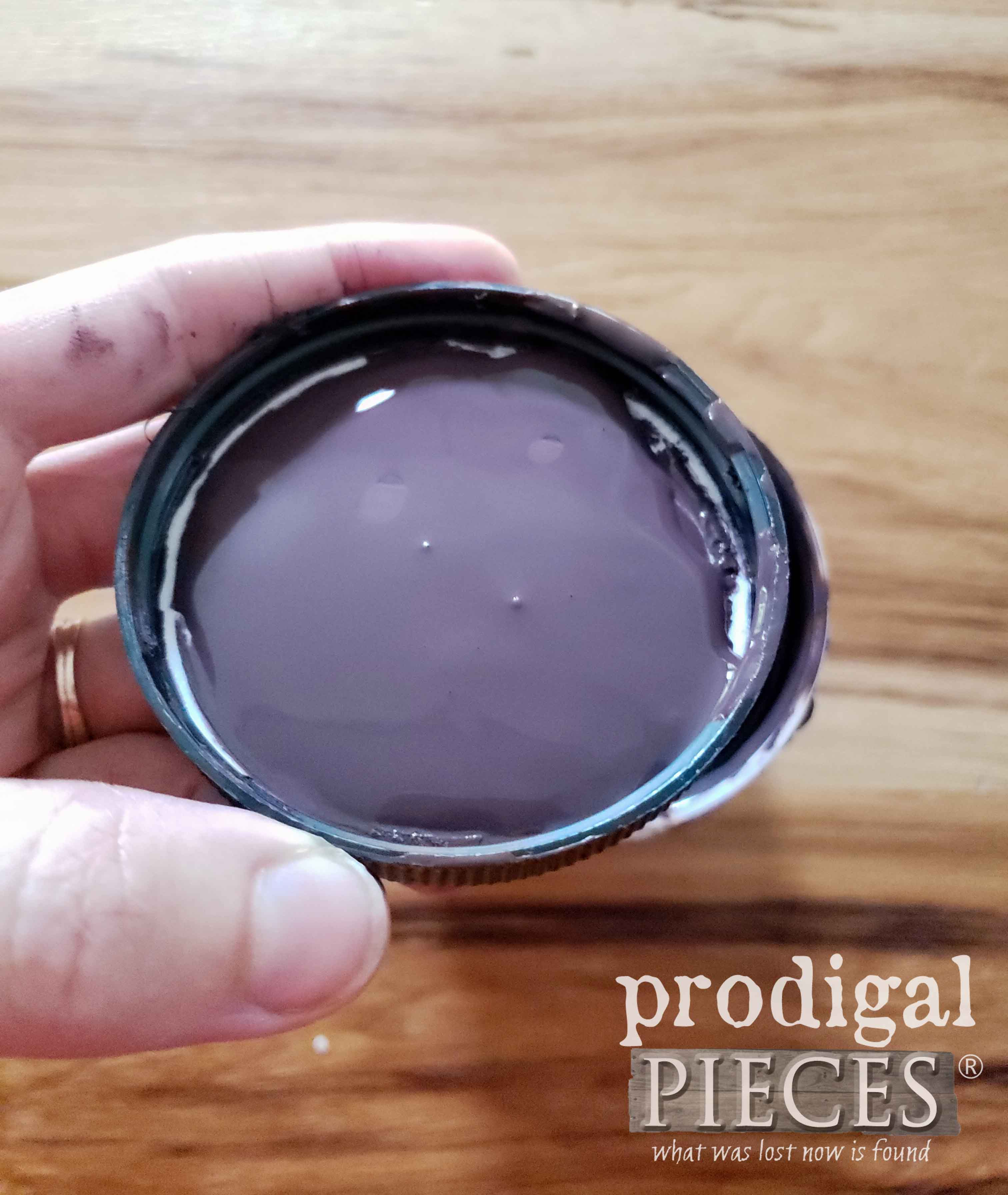 Dark Plum Color Paint for Piano Bench | prodigalpieces.com