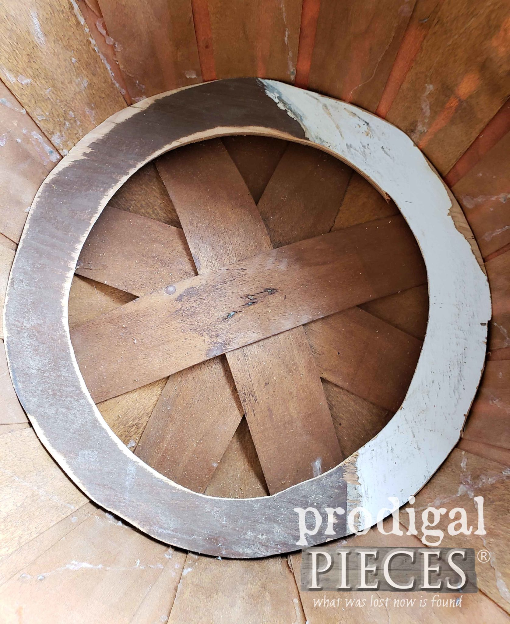 Reinforced Bushel Basket Bottom | prodigalpieces.com
