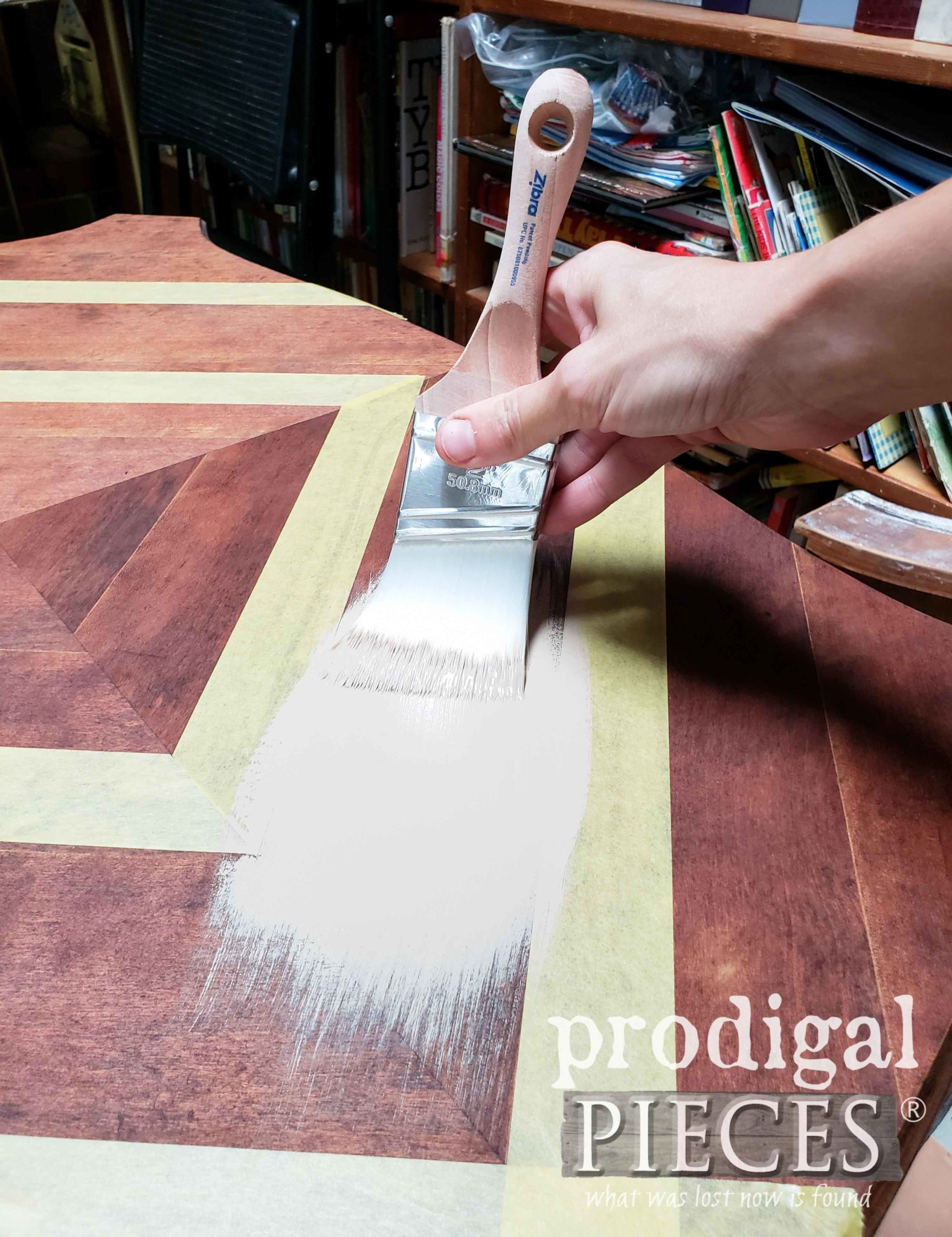 Zibra Stubby Paint Brush for Furniture by Prodigal Pieces | prodigalpieces.com