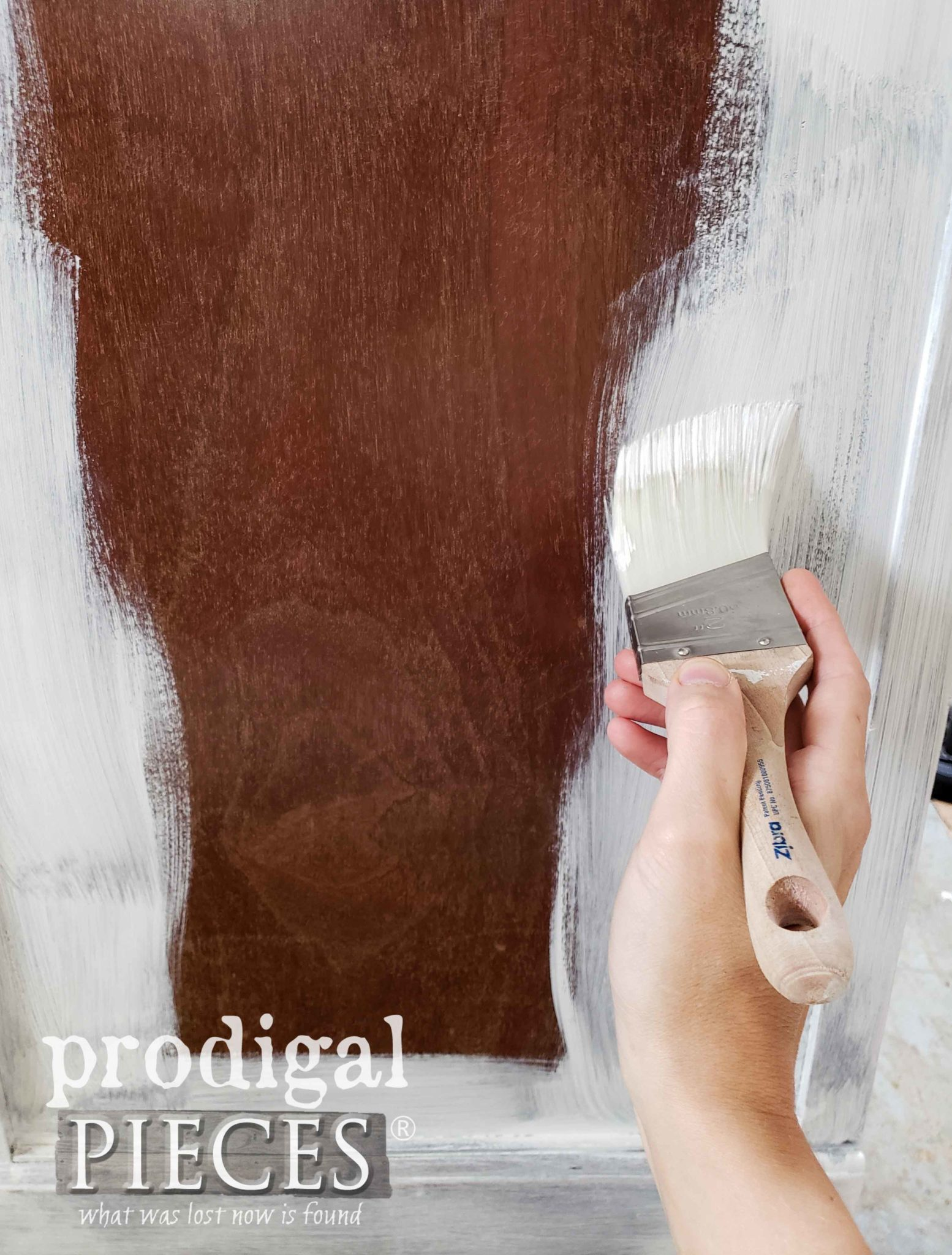 Applying Kilz Primer to Avoid Bleed Through | prodigalpieces.com